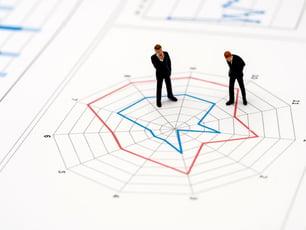 人事評価で効果発揮のレーダーチャート 活用方法や注意点について解説
