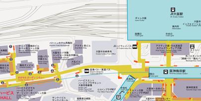 SAPジャパン西日本オフィス 大阪府大阪市北区梅田3-3-10 梅田ダイビル5階